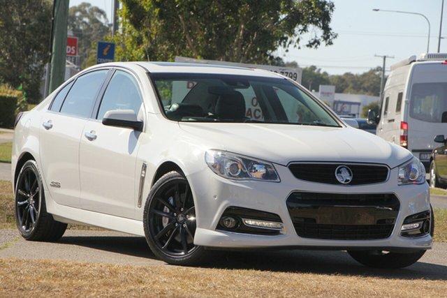 Used Holden Commodore VF MY14 SS V Redline, 2014 Holden Commodore VF MY14 SS V Redline White 6 Speed Manual Sedan