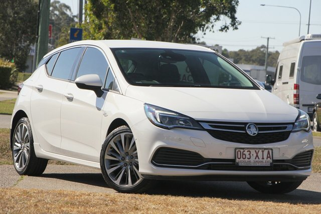 Used Holden Astra BK MY17 RS-V, 2016 Holden Astra BK MY17 RS-V Summit White 6 Speed Manual Hatchback