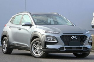 2020 Hyundai Kona OS.3 MY20 Active D-CT AWD Lake Silver 7 Speed Sports Automatic Dual Clutch Wagon