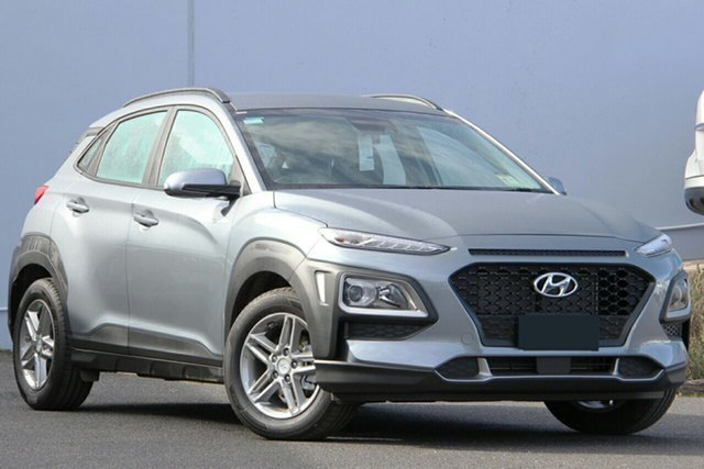 New Hyundai Kona OS.3 MY20 Active D-CT AWD, 2020 Hyundai Kona OS.3 MY20 Active D-CT AWD Lake Silver 7 Speed Sports Automatic Dual Clutch Wagon