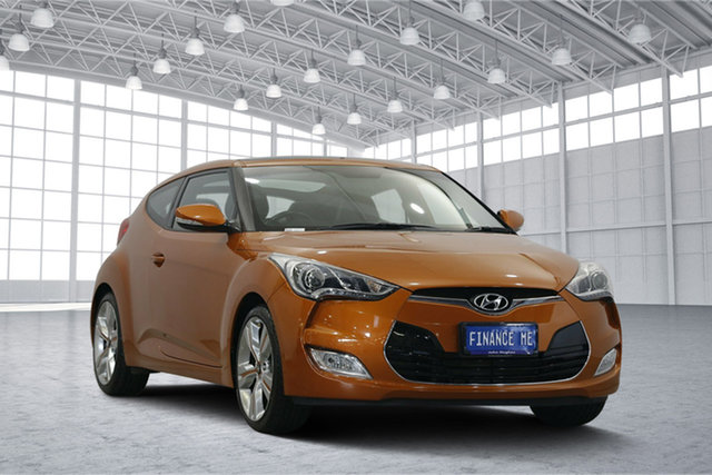 Used Hyundai Veloster FS2 Coupe D-CT, 2014 Hyundai Veloster FS2 Coupe D-CT Bronze 6 Speed Sports Automatic Dual Clutch Hatchback