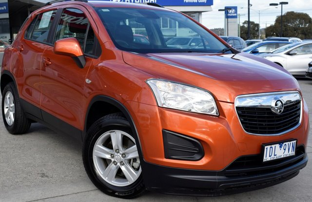 Used Holden Trax TJ MY14 LS, 2014 Holden Trax TJ MY14 LS Orange 6 Speed Automatic Wagon