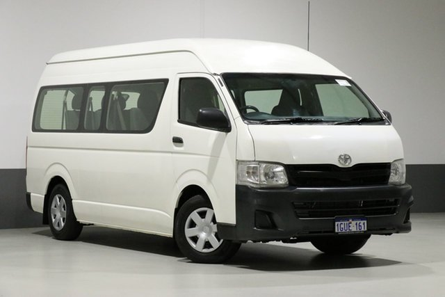 Used Toyota HiAce KDH223R MY11 Upgrade Commuter, 2012 Toyota HiAce KDH223R MY11 Upgrade Commuter White 4 Speed Automatic Bus