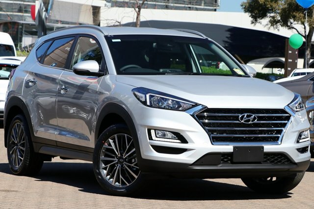 New Hyundai Tucson TL3 MY20 Elite D-CT AWD, 2020 Hyundai Tucson TL3 MY20 Elite D-CT AWD Platinum Silver 7 Speed Sports Automatic Dual Clutch