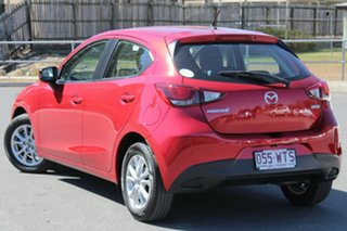 2016 Mazda 2 DJ2HA6 Maxx SKYACTIV-MT Red 6 Speed Manual Hatchback.