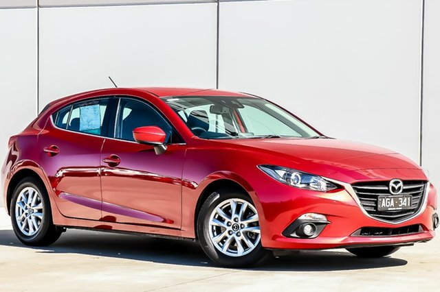 Used Mazda 3 BM5476 Touring SKYACTIV-MT, 2015 Mazda 3 BM5476 Touring SKYACTIV-MT Soul Red 6 Speed Manual Hatchback