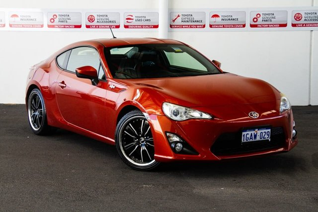 Used Toyota 86 ZN6 GT, 2012 Toyota 86 ZN6 GT Orange 6 Speed Auto Sequential Coupe