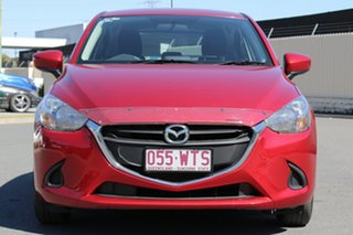 2016 Mazda 2 DJ2HA6 Maxx SKYACTIV-MT Red 6 Speed Manual Hatchback