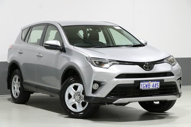 Used Toyota RAV4 ZSA42R MY18 GX (2WD), 2018 Toyota RAV4 ZSA42R MY18 GX (2WD) Silver Continuous Variable Wagon