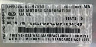 2019 Kia Sportage QL MY19 Si 2WD Premium Sparkling Silver 6 Speed Sports Automatic Wagon