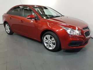 2015 Holden Cruze JH Series II MY16 Equipe Red 6 Speed Sports Automatic Sedan