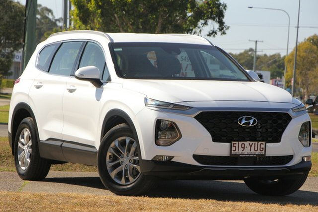 Used Hyundai Santa Fe TM MY19 Active, 2018 Hyundai Santa Fe TM MY19 Active White 8 Speed Sports Automatic Wagon