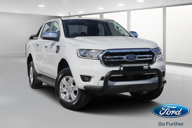 New Ford Ranger PX MkIII 2019.75MY XLT Pick-up Double Cab, 2019 Ford Ranger PX MkIII 2019.75MY XLT Pick-up Double Cab Arctic White 10 Speed Sports Automatic