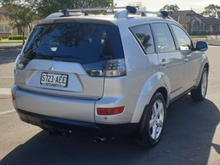 2007 Mitsubishi Outlander ZG MY07 XLS Silver 6 Speed Constant Variable Wagon