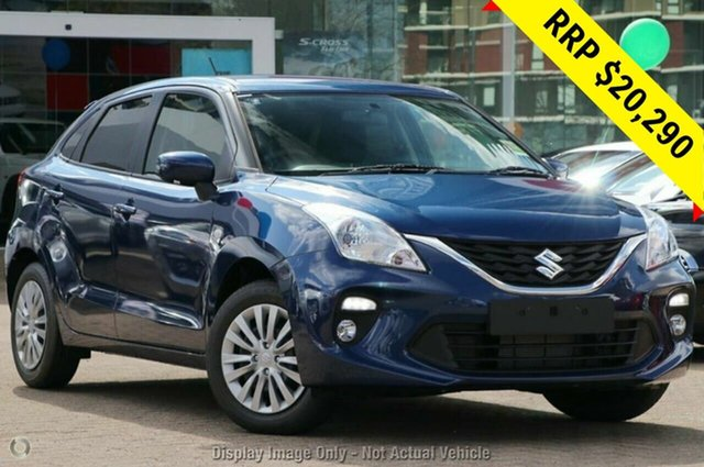 New Suzuki Baleno EW GL, 2019 Suzuki Baleno EW GL Star Blue 4 Speed Automatic Hatchback