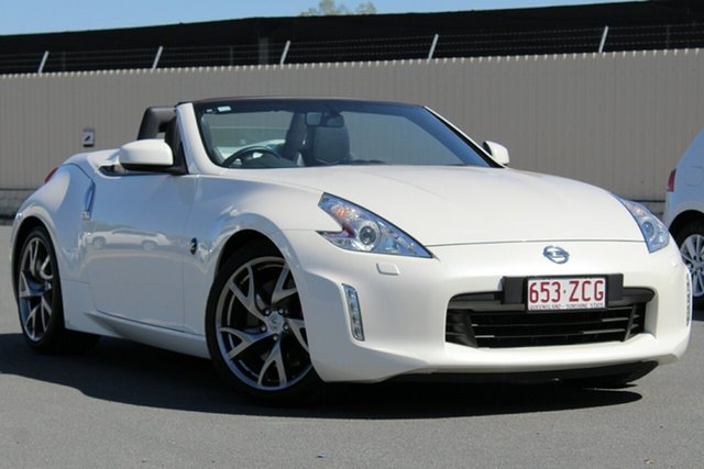 Used Nissan 370Z Z34 MY15 , 2016 Nissan 370Z Z34 MY15 White 6 Speed Manual Roadster