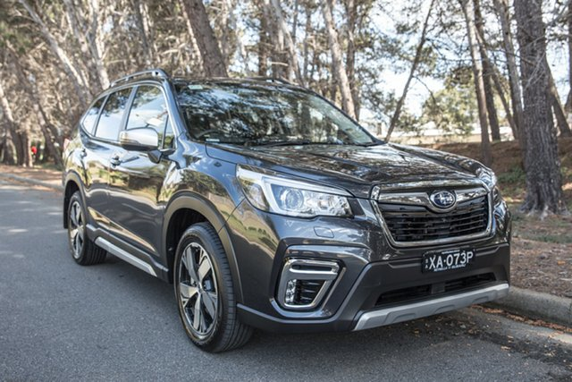 Demo Subaru Forester S5 MY19 2.5i-S CVT AWD, 2019 Subaru Forester S5 MY19 2.5i-S CVT AWD Dark Grey 7 Speed Constant Variable Wagon
