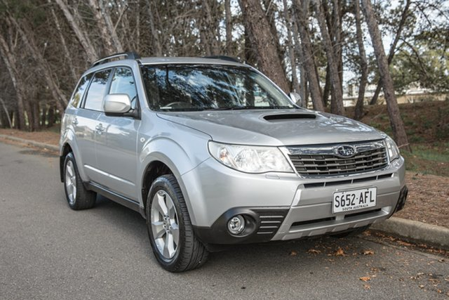 Used Subaru Forester S3 MY09 XT AWD, 2009 Subaru Forester S3 MY09 XT AWD Silver 5 Speed Manual Wagon