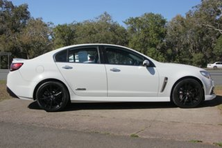 2014 Holden Commodore VF MY14 SS V Redline White 6 Speed Manual Sedan.