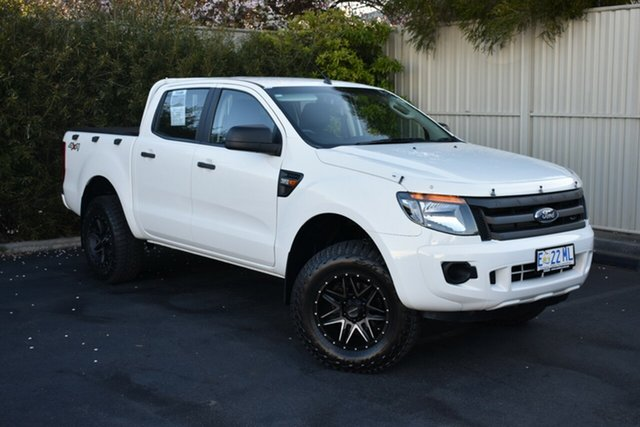 Used Ford Ranger PX XL Double Cab, 2015 Ford Ranger PX XL Double Cab White 6 Speed Sports Automatic Utility
