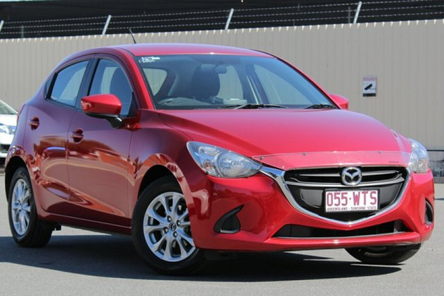 Used Mazda 2 DJ2HA6 Maxx SKYACTIV-MT, 2016 Mazda 2 DJ2HA6 Maxx SKYACTIV-MT Red 6 Speed Manual Hatchback