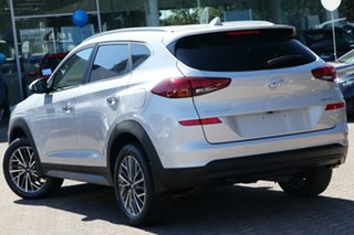2020 Hyundai Tucson TL3 MY21 Elite AWD Platinum Silver 8 Speed Sports Automatic Wagon.
