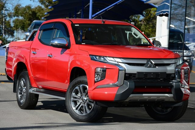 New Mitsubishi Triton MR MY19 GLS Double Cab Premium, 2019 Mitsubishi Triton MR MY19 GLS Double Cab Premium Red 6 Speed Sports Automatic Utility