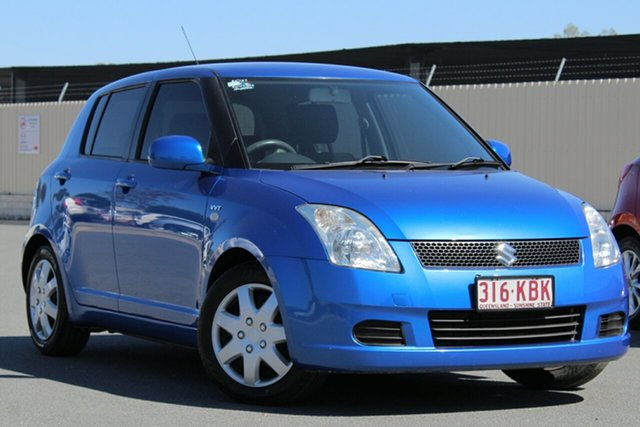 Used Suzuki Swift RS415 , 2006 Suzuki Swift RS415 Blue 4 Speed Automatic Hatchback