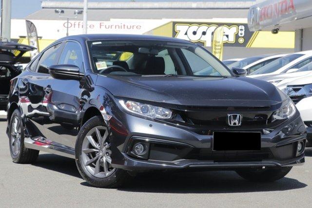 New Honda Civic 10th Gen MY20 VTi-S, 2020 Honda Civic 10th Gen MY20 VTi-S Blue 1 Speed Constant Variable Sedan