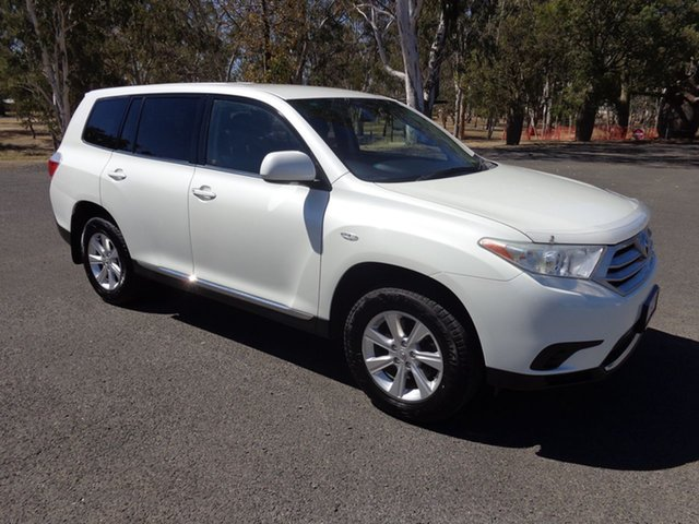 Used Toyota Kluger GSU45R MY13 Upgrade KX-R (4x4) 7 Seat, 2013 Toyota Kluger GSU45R MY13 Upgrade KX-R (4x4) 7 Seat Crystal Pearl 5 Speed Automatic Wagon
