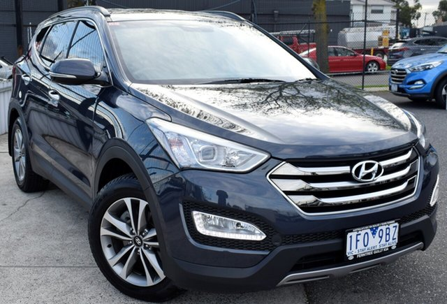 Used Hyundai Santa Fe DM2 MY15 Elite, 2015 Hyundai Santa Fe DM2 MY15 Elite Blue 6 Speed Sports Automatic Wagon