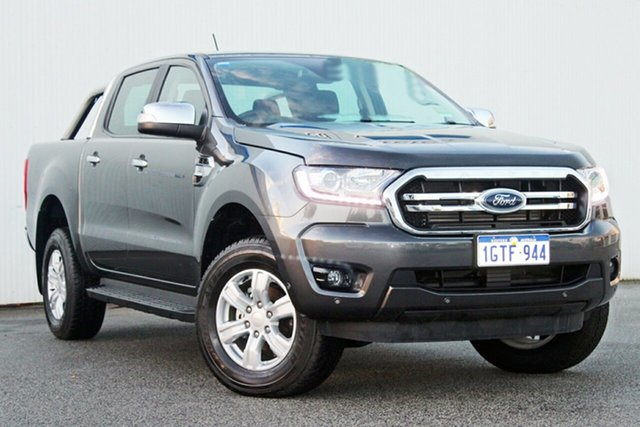 Demo Ford Ranger  XLT Pick-up Double Cab, 2018 Ford Ranger PX MKIII 2019.0 XLT Pick-up Double Cab Magnetic 6 Speed Sports Automatic Utility