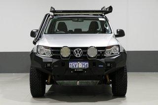 2014 Volkswagen Amarok 2H MY14 TDI420 (4x4) Silver 8 Speed Automatic Dual Cab Utility.