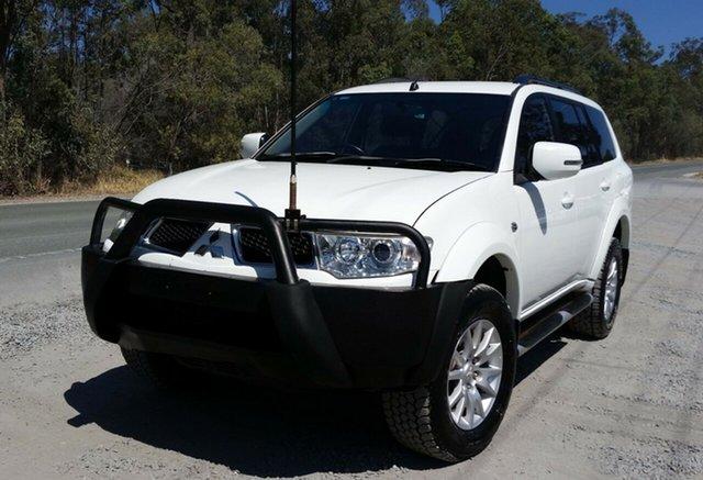 Used Mitsubishi Challenger PB (KH) MY12 , 2012 Mitsubishi Challenger PB (KH) MY12 White 5 Speed Sports Automatic Wagon