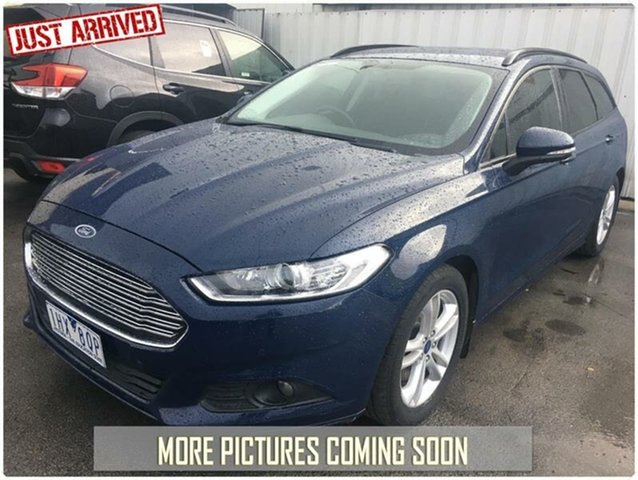 Used Ford Mondeo MD Ambiente, 2016 Ford Mondeo MD Ambiente Blue 6 Speed Sports Automatic Dual Clutch Wagon