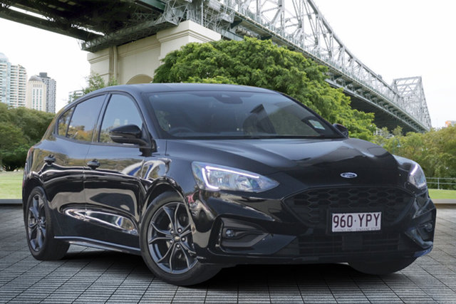 Used Ford Focus SA 2019MY ST-Line, 2018 Ford Focus SA 2019MY ST-Line Black 8 Speed Automatic Hatchback