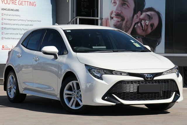 Used Toyota Corolla Mzea12R Ascent Sport, 2018 Toyota Corolla Mzea12R Ascent Sport Pearl White Continuous Variable Hatchback