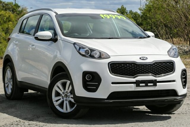 Used Kia Sportage QL MY16 Si 2WD, 2016 Kia Sportage QL MY16 Si 2WD White 6 Speed Sports Automatic Wagon