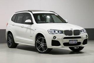 2016 BMW X3 F25 MY17 xDrive 30D White 8 Speed Automatic Wagon.