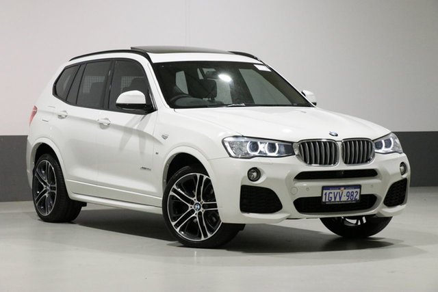 Used BMW X3 F25 MY17 xDrive 30D, 2016 BMW X3 F25 MY17 xDrive 30D White 8 Speed Automatic Wagon