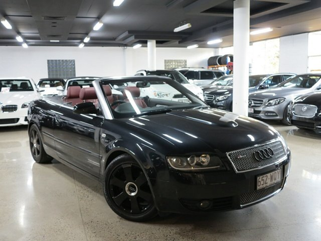 Used Audi A4 B6 Multitronic, 2002 Audi A4 B6 Multitronic Black 1 Speed Constant Variable Cabriolet