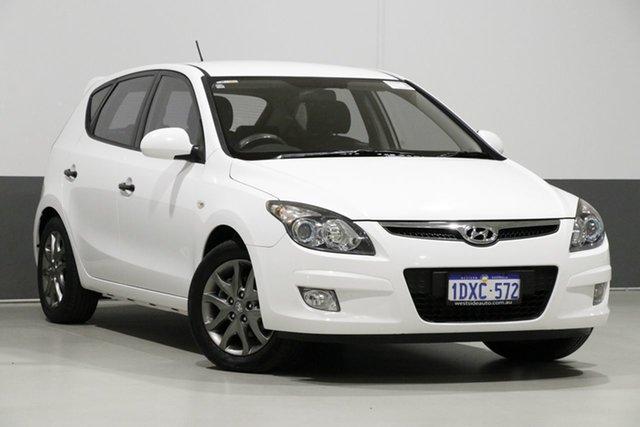 Used Hyundai i30 FD MY12 Trophy, 2012 Hyundai i30 FD MY12 Trophy White 4 Speed Automatic Hatchback