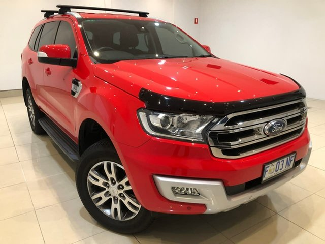 Used Ford Everest UA Trend 4WD, 2016 Ford Everest UA Trend 4WD Red 6 Speed Sports Automatic Wagon