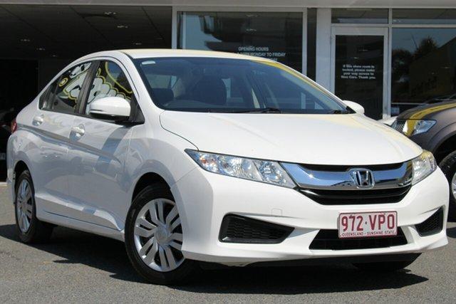 Used Honda City GM MY14 VTi, 2015 Honda City GM MY14 VTi White 1 Speed Constant Variable Sedan