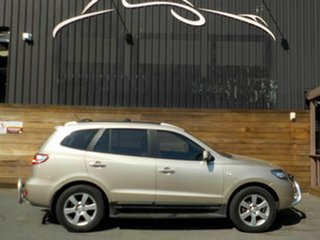 2007 Hyundai Santa Fe CM MY08 Elite Gold 5 Speed Sports Automatic Wagon.