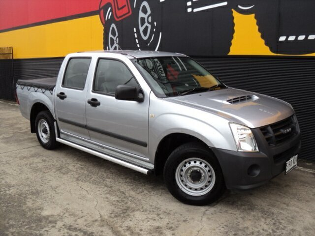 Used Isuzu D-MAX MY09 SX 4x2, 2009 Isuzu D-MAX MY09 SX 4x2 Platinum Silver 5 Speed Manual Utility