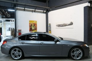 2013 BMW 6 Series F06 MY1112 650i Gran Coupe Steptronic Grey 8 Speed Sports Automatic Sedan.