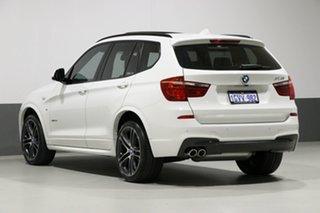 2016 BMW X3 F25 MY17 xDrive 30D White 8 Speed Automatic Wagon