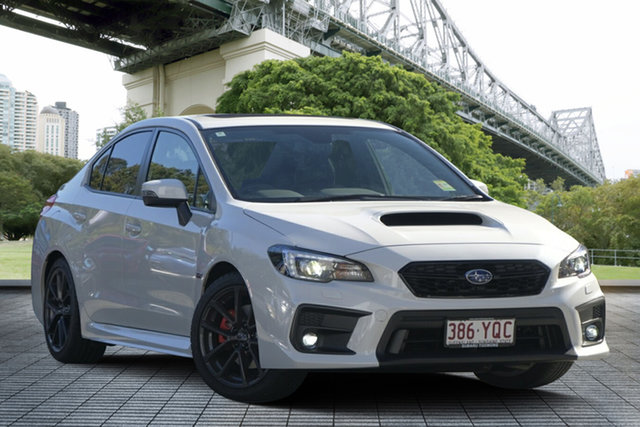 Demo Subaru WRX V1 MY19 Premium Lineartronic AWD, 2019 Subaru WRX V1 MY19 Premium Lineartronic AWD White Crystal 8 Speed Constant Variable Sedan