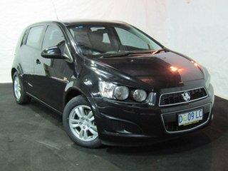 2013 Holden Barina TM MY13 CD Carbon Flash Black 5 Speed Manual Hatchback.